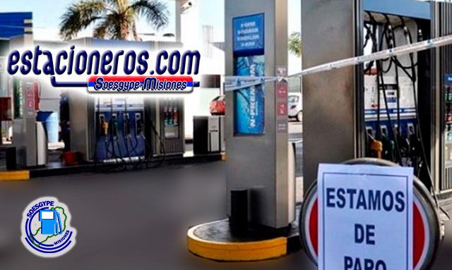 """El próximo 24 de mayo los """"estacioneros"""" de Misiones, nucleados en el SOESGYPE realizarían paro por mejoras salariales."""