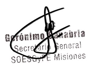 Gerónimo-Sanabria-Secretario-General-SOESGyPE-Misiones