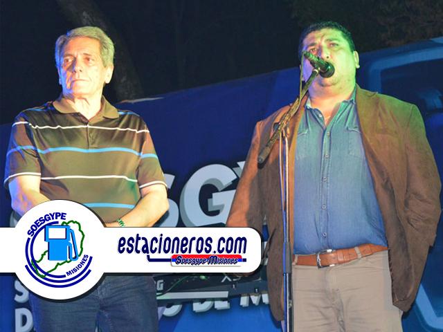 CARLOS ACUÑA CGT FOESGRA y SOESGYPE GERÓNIMO SANABRIA SOESGYPE MISIONES