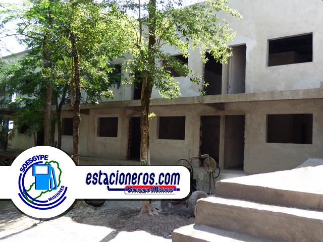 Hotel para Estacioneros construye el SOESGYPE MSIONES encabezado por Gerónimo Sanabria