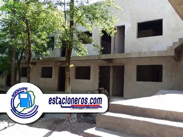 Apart Hotel para los Estacioneros del SOESGyPE Misiones se encuentra en avanzado estado de obras, se estima su finalización para fines de 2018